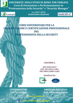 Corsi Security Management a.a. 2017/2018