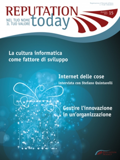 On line il nuovo numero di Reputation Today - dicembre 2017